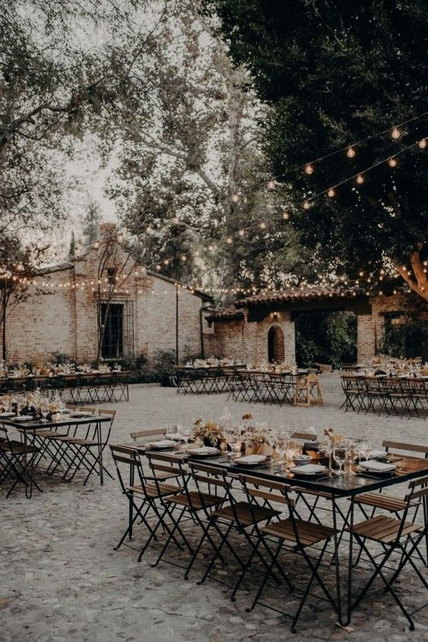 20 Trending Fall Wedding Reception Ideas for 2019