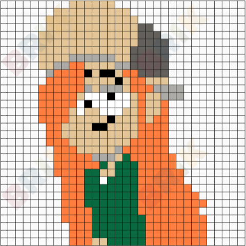 Wendy Pixel Art Pixel Art Art 8 Bit Art