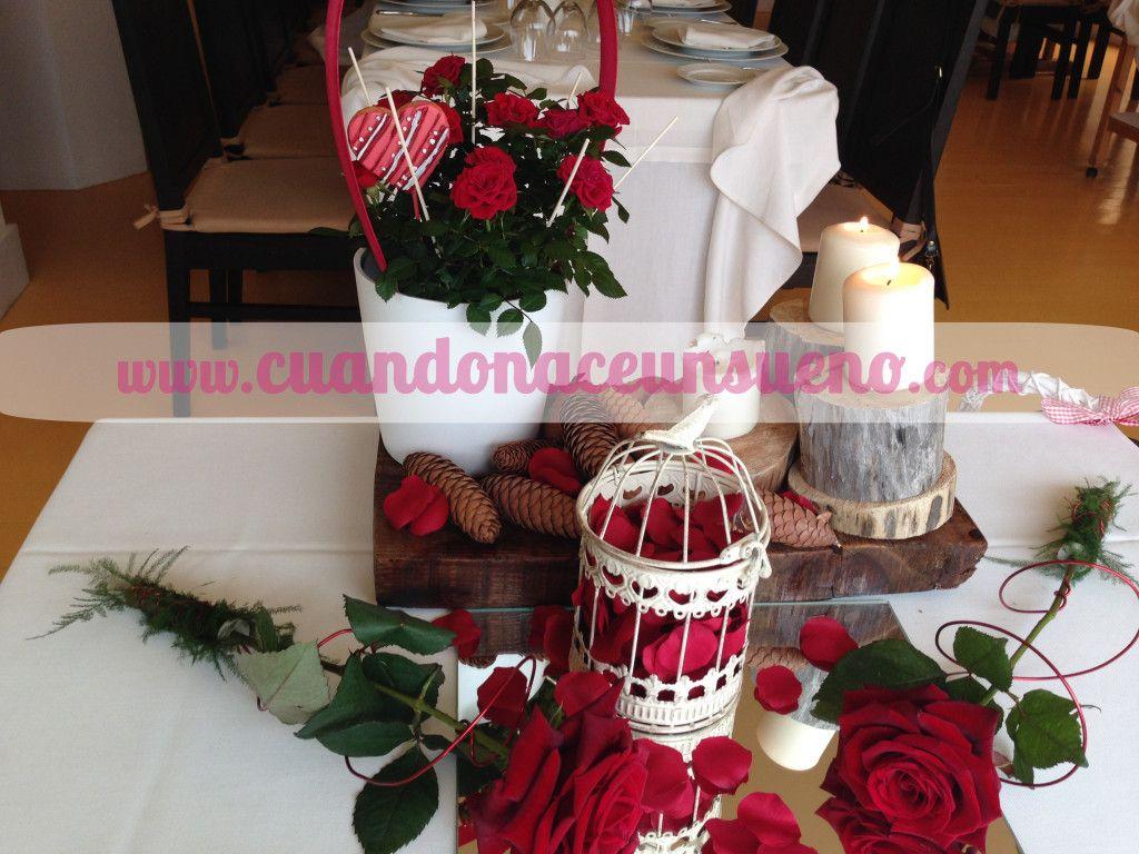Decoración San Valentín. Decoración cuando nace un sueño. Wedding ...