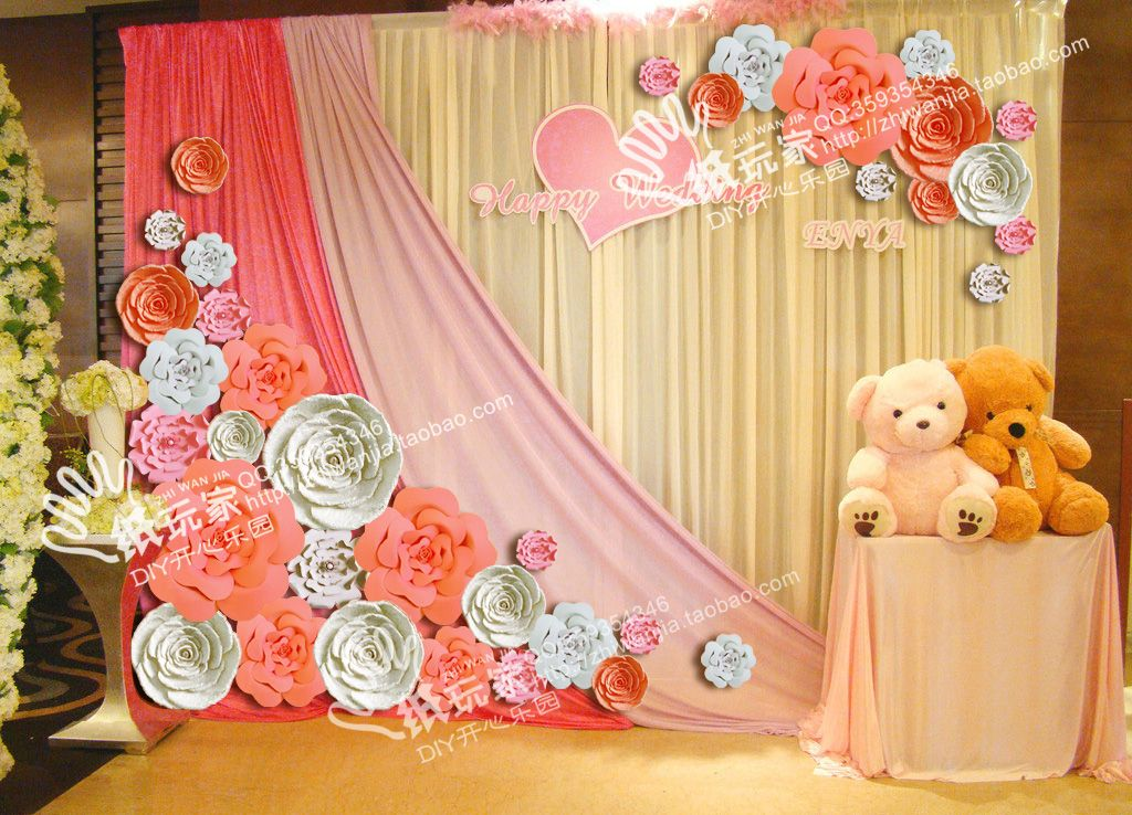 Paper Flower Decorations For Weddings - Best Flower 2017