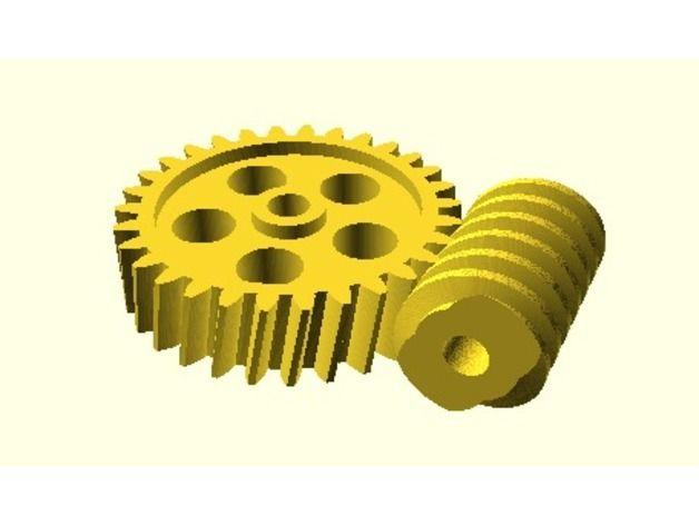 Getriebe Bibliothek für OpenSCAD / Gears Library for