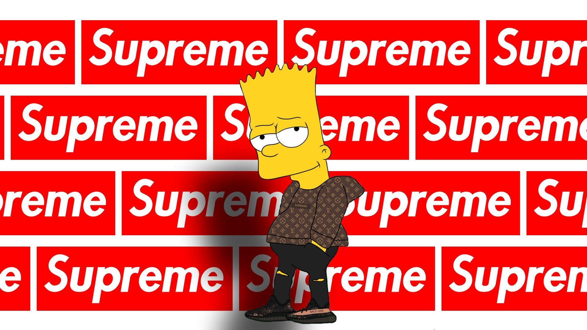 Supreme Bart Wallpapers Wallpaper Cave Intended For Simpsons Supreme Wallpapers Supreme Wallpaper Supreme Iphone Wallpaper Supreme Background