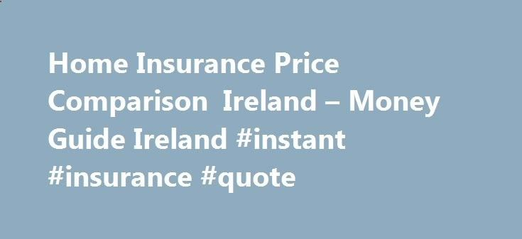 Insurance Price Quote Endearing Home Insurance Price Comparison Ireland  Money Guide Ireland