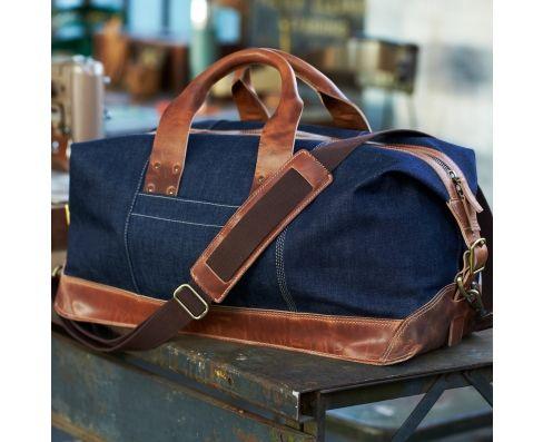Timberland Boot Company; Premium Denim Weekender Bag | TIMBERLAND ...