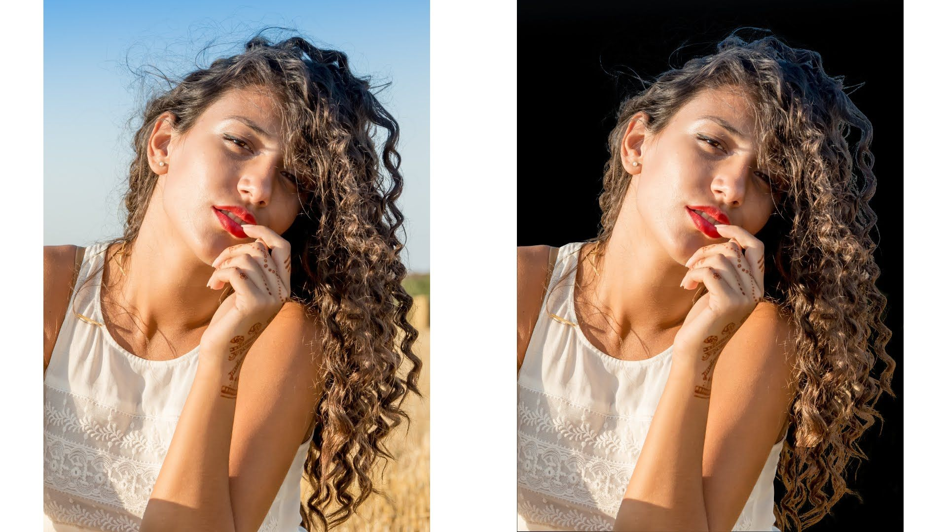 How to Remove Background with Complicated HAIR in Gimp