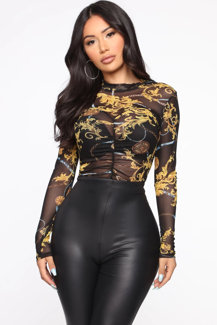 Girl With Attitude Mesh Top in 2020