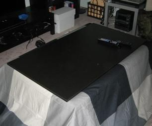 Build An American Style Kotatsu Heavy Blanket Table Frame And