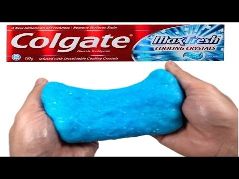 Diy how to make toothpaste slime without boraxdetergentliquid diy how to make toothpaste slime without boraxdetergentliquid starch or baking soda ccuart Images