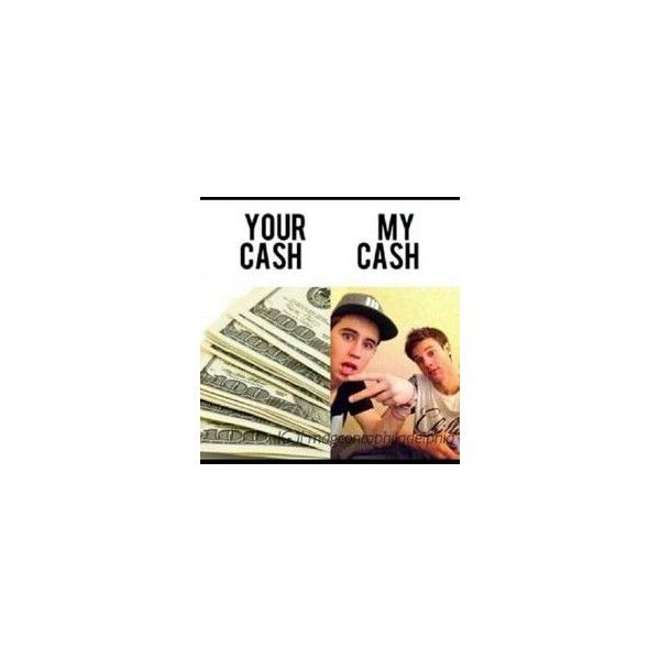 Haha #cash Magcon Boys ❤ liked on Polyvore featuring magcon and youtube