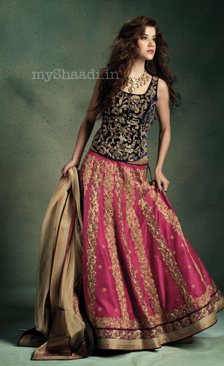 56e5c8fabe JADE by Monica & Karishma | Myshaadi.in Rasika you could wear something  like that