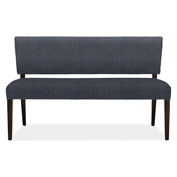 Georgia Modern Fabric Bench Modern Benches Stools Ottomans