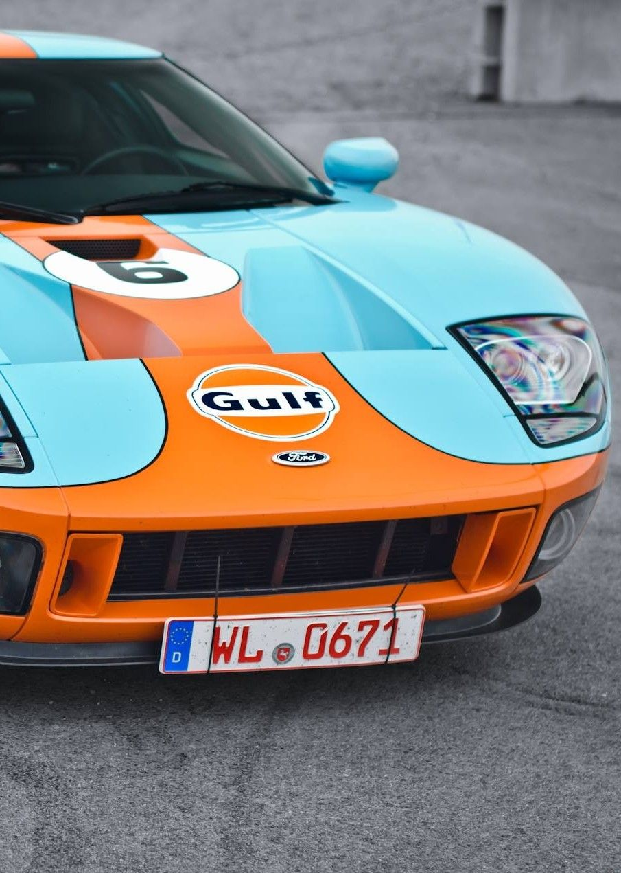Ford Gt Gulf Livery Ford Gt Ford Gt Gulf Gt Cars