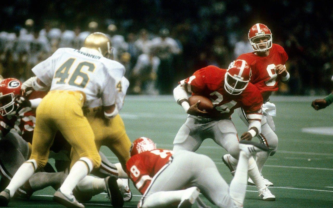 1980 National Championship, 17 Notre Dame 10