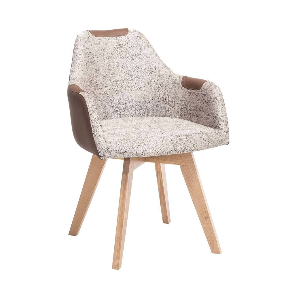 Wunderbar Esstisch Stühle Beige Sammlung Von Esszimmerstuhl Im Retro Look Braun Jetzt Bestellen