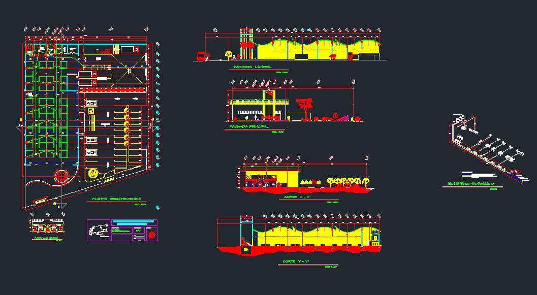 Travail en verre dans la construction du bâtiment de haute élévation - logiciel de plan de maison