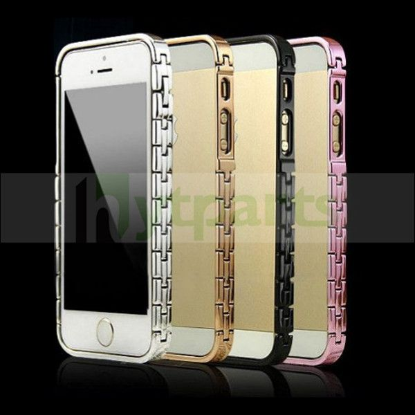 Metal Hinge Chain Bumper Case for iPhone 5S 5