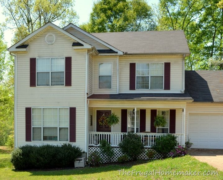 House Ideas Image By Heather Williams Painting Shutters Paint Front Door Diy House Shutters