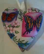 Easter Gift / Butterfly Fabric Lavender Bag / Butterfly Gift - Handmade