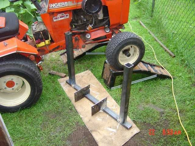 Homemade Case Ingersoll Front End Loader Lawn Mower Forums Lawnmower Reviews Repair