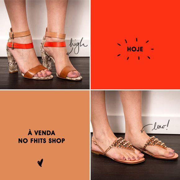 Vamos falar de sapatos? Quem não ama? Essa semana está rolando uma venda da Shoestock lá no Fhits Shops. Escolhi duas peças lindas. Vem ver!