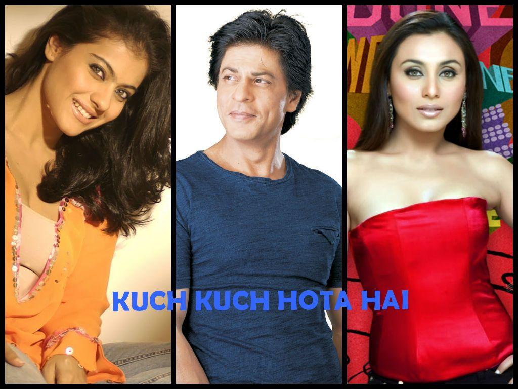 Kajol,Shah Rukh Khan,Rani Mukherjee - Kuch Kuch Hota Hai ...