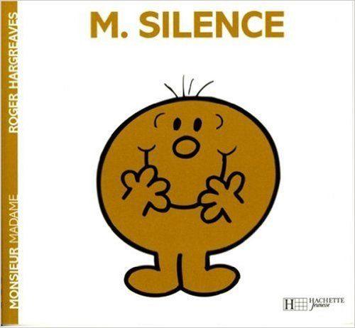 Amazon Fr Monsieur Silence Roger Hargreaves Livres