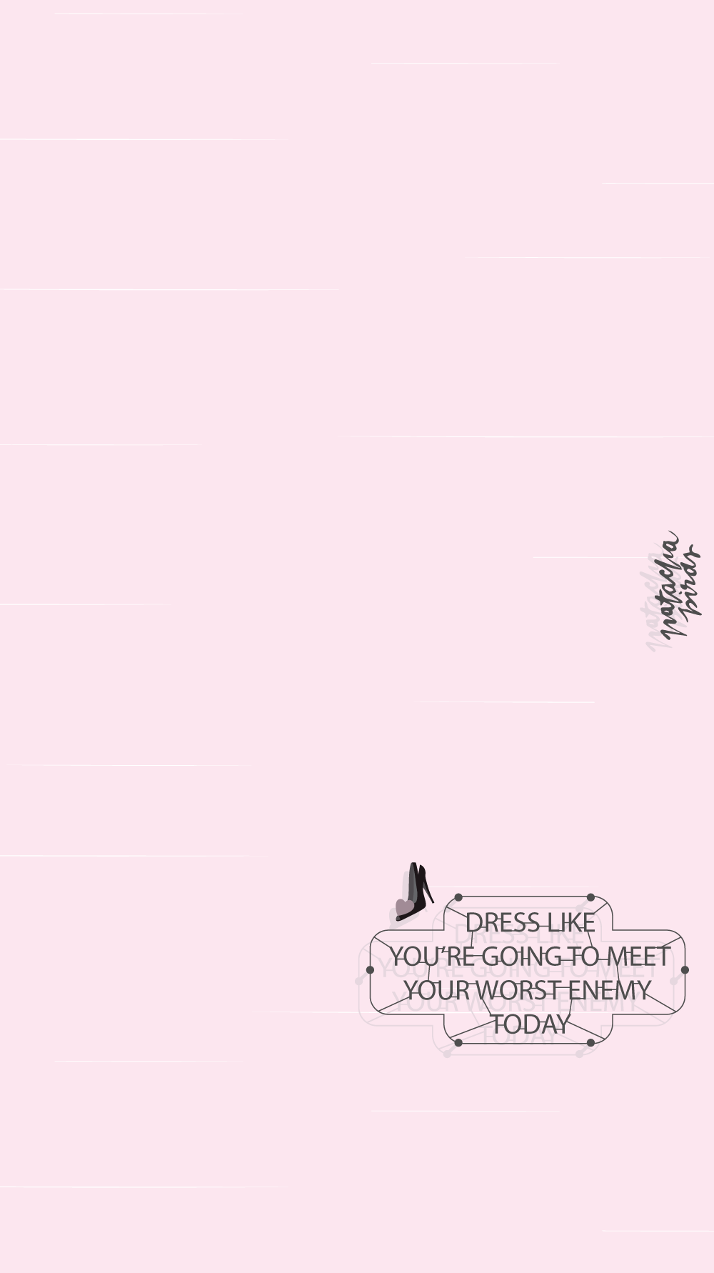 Pink Girl Quote Iphone Home Wallpaper Panpins Iphone Wallpaper Themes Wallpaper Iphone Cute Quote Iphone
