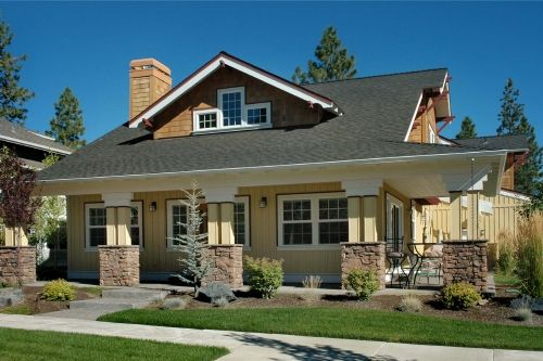 Craftsman Style Homes Harmony Between The House And Its Surroundings Integrating Home Craftsman Style Homes Craftsman Bungalows Craftsman House