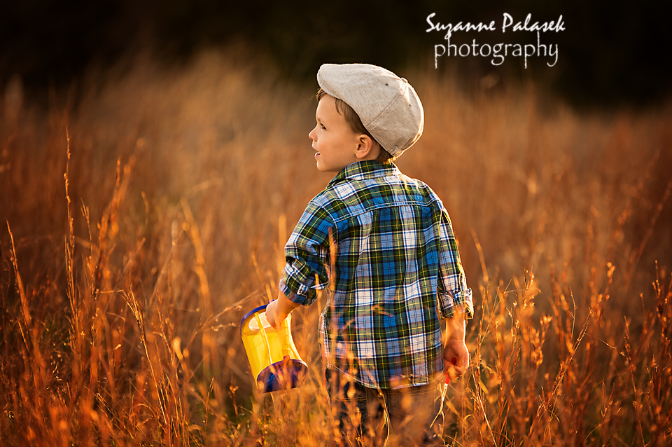 Photoshoot in a field in Plano, TX I Fine Art Photographer I Suzanne Palasek Photography