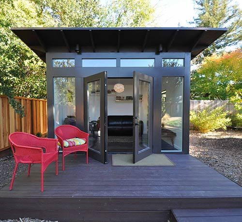 9 Sources For Midcentury Modern Sheds   Prefab, DIY Kits, And Plans   Retro  Renovation. Backyard OfficeOutdoor ...