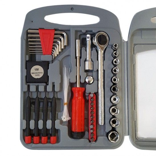 51 Piece Ratchet Set Ratchet Tool Socket Wrenches