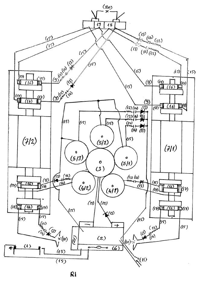 Hendershot Fuelless Generator Schematic