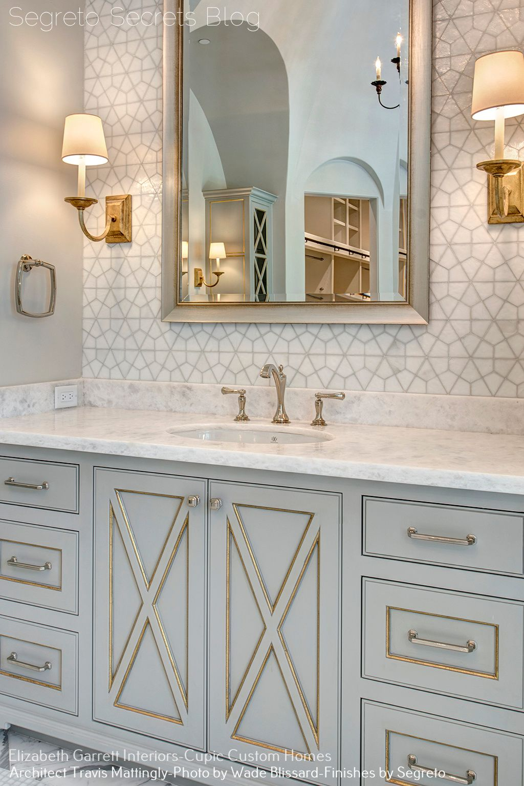 A Showcase To Remember Part 2 Segreto Finishes Elegant Bathroom Basement Bathroom Design Houston Interior Designers