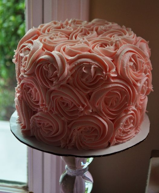 So pretty you almost cannot eat it. Almost. #cake