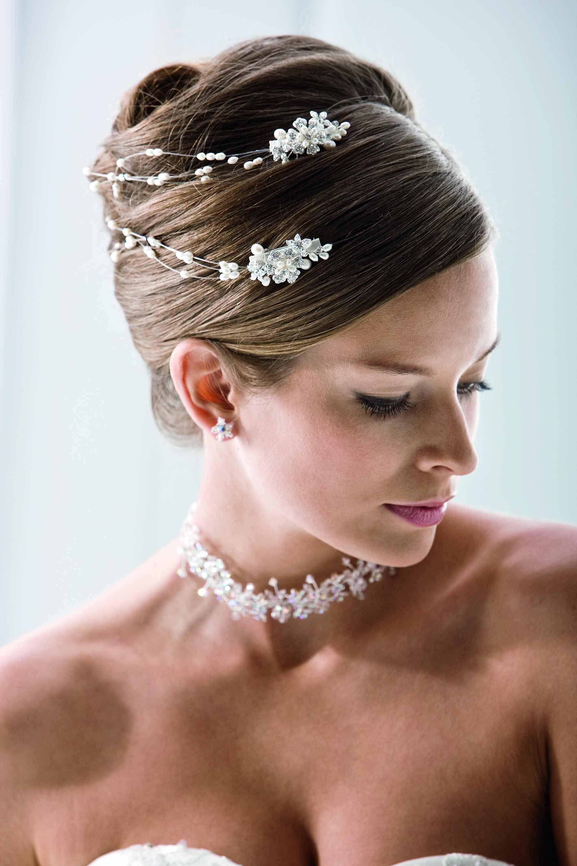 Haarklammer Mit Perlenband 2 Haarklammern Im Set Von Emmerling