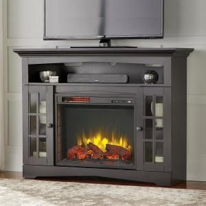 Home Decorators Collection Avondale Grove 48 In Tv Stand Infrared Electric Fireplace In Aged White 258 102 165 Y The Home Depot Electric Fireplace Tv Stand Electric Fireplace Fireplace Tv Stand