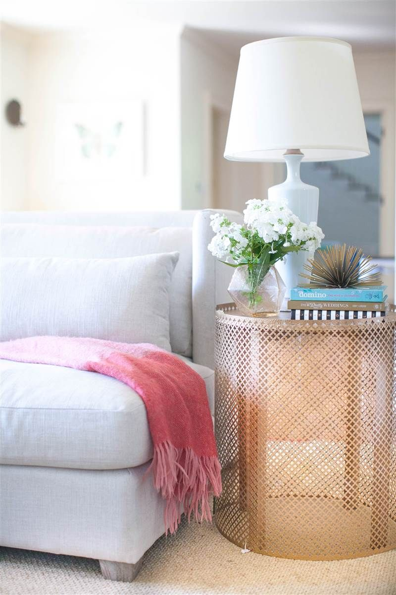 DIY Open Weave Side Table   I Love The Ethnic Vibe Of This Table But One