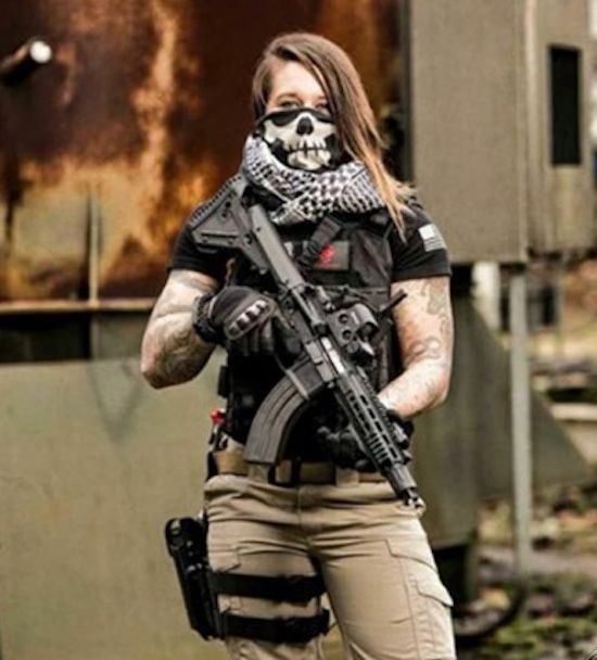 Kinessa Johnson, a BAD ASS veteran, now protecting animals from poaching in Africa.