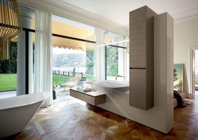 Badezimmer im Schlafzimmer   bathroom   Pinterest   Badezimmer, Bad ...