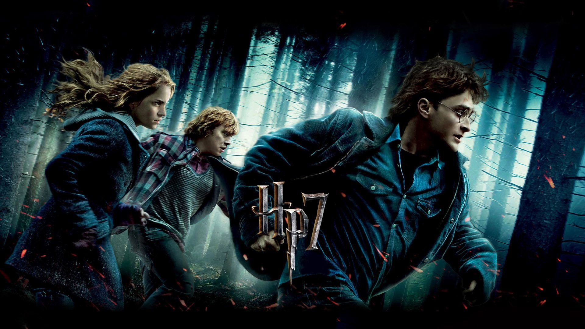 Harry Potter And The Deathly Hallows Part Wallpapers Deathly Hallows Part 1 Harry Potter Wallpaper Deathly Hallows Wallpaper