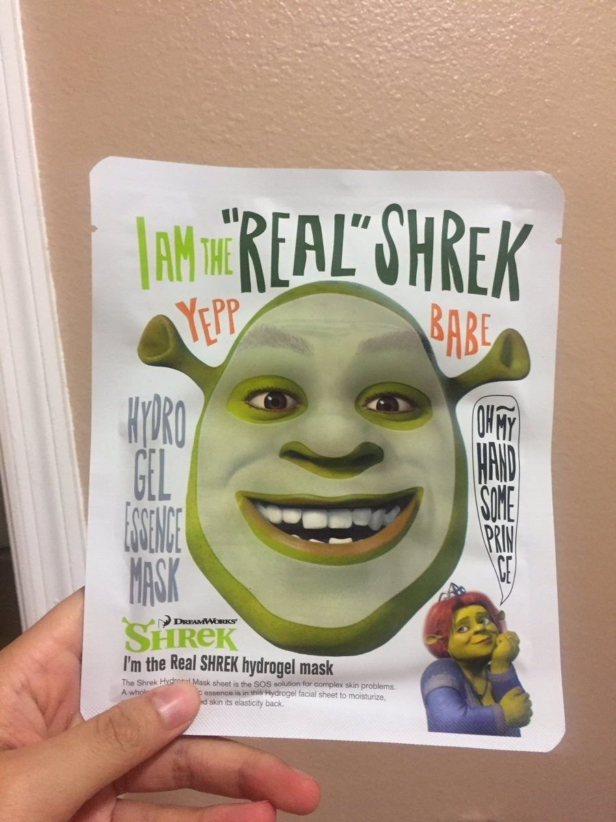 22 Products The World Never Asked For Shrek Funny Face Mask Funny Faces