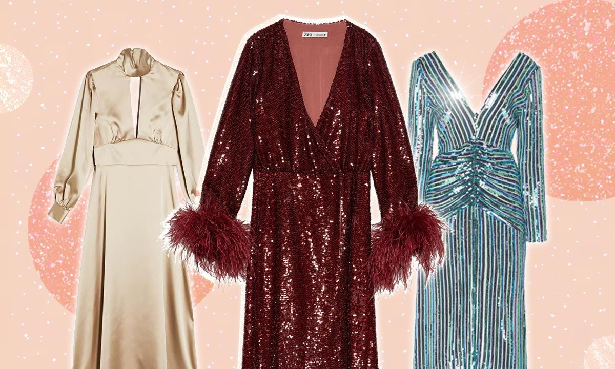 The best Christmas party dresses, from Marks and Spencer, Primark & Topshop #christmaspartyoutfits