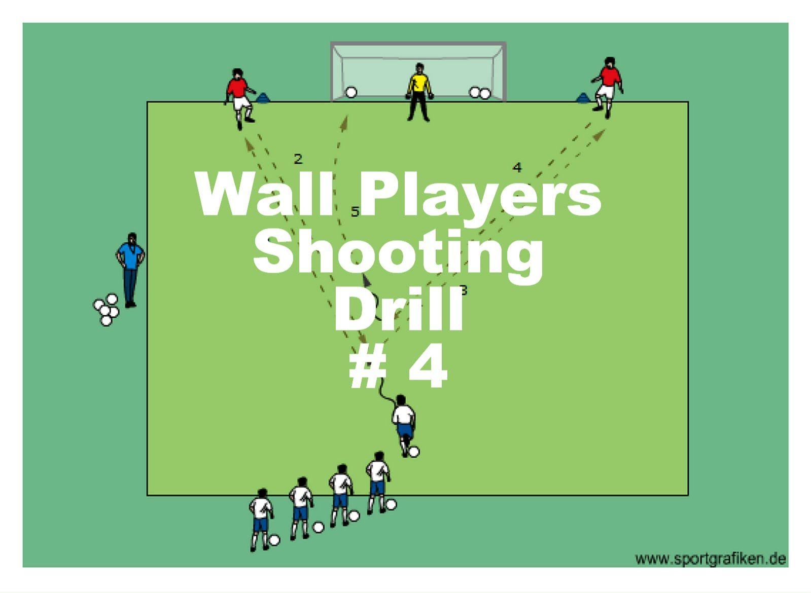 Fun Shooting Drill Shooting Tips: Easy Combination Soccer Shooting Drill
