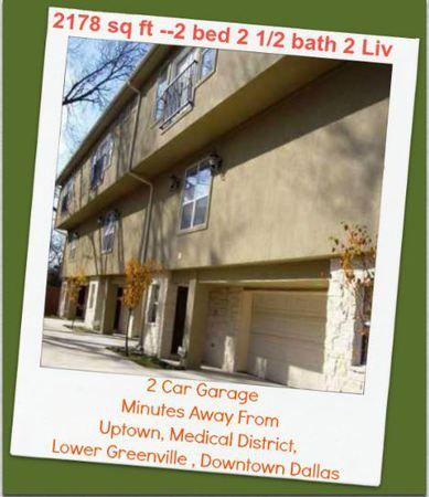 Uptown Dallas Townhomes For Rent Dallas Townhomes for ...