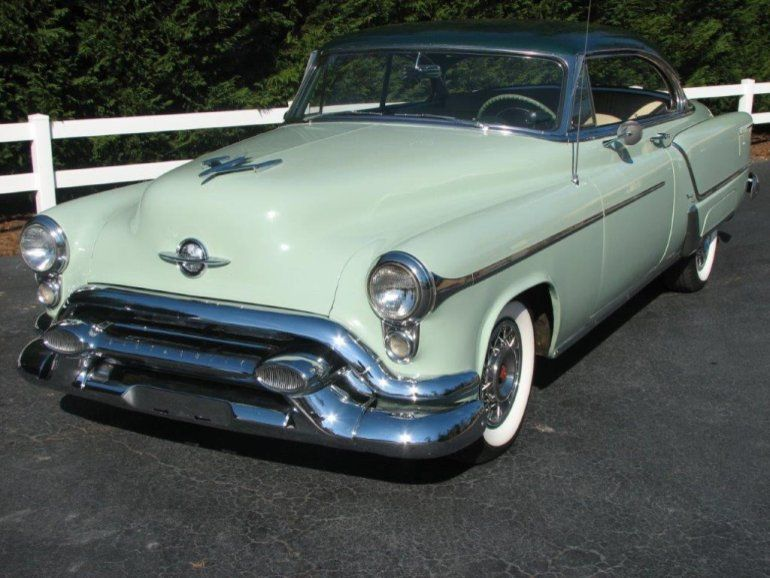 1953 Oldsmobile 98 Holiday Coupe Oldsmobile Cars For Sale Classic Cars