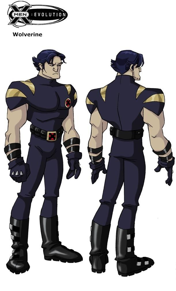 Wolverine X Men Evolution I Like This Costume The Best X Men