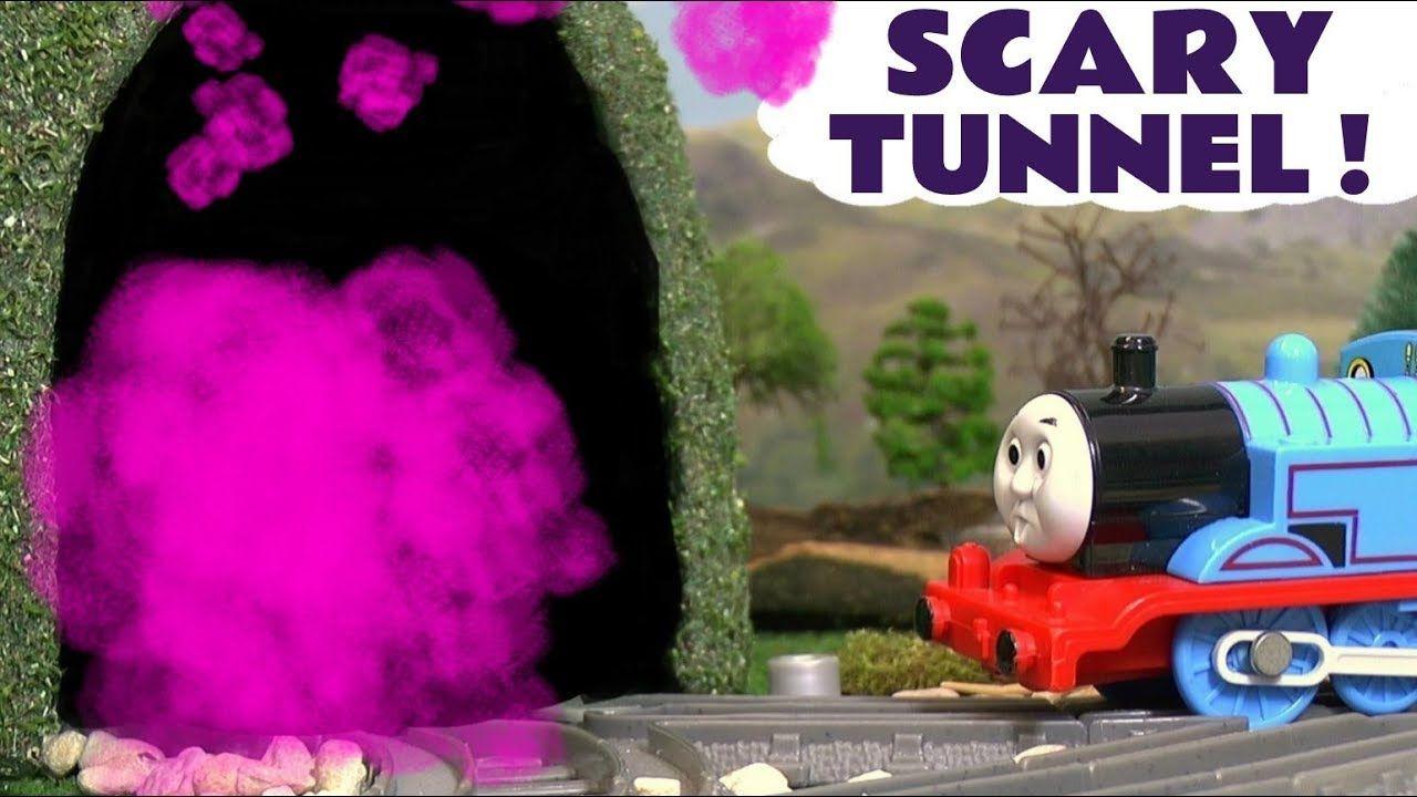 4b9a35d303a Trackmaster Thomas & Friends FJK24 Tunnel Blast Set the Tank Engine Toy  Train