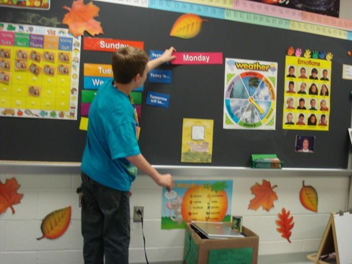 Classroom Meeting Ideas ~ Morning meeting in the life skills classroom middle