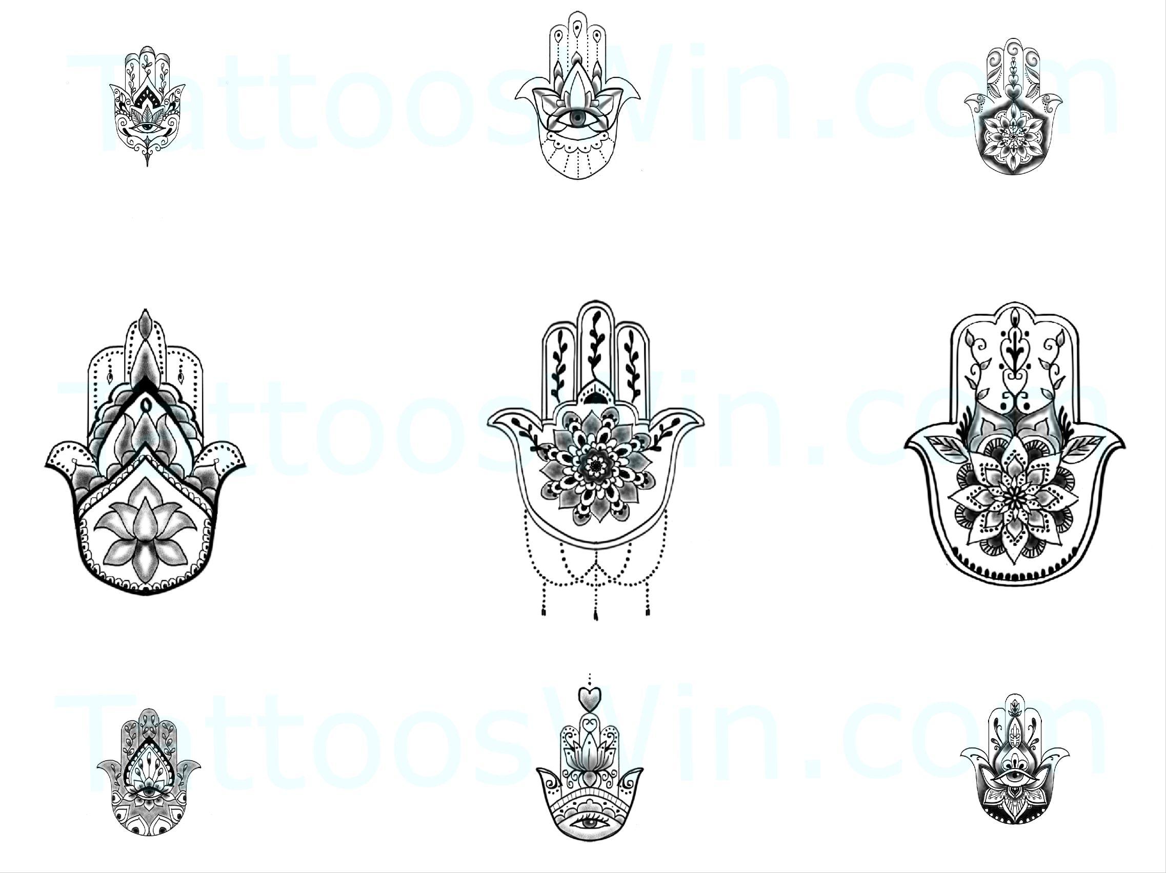 New Hamsa Tattoo Designs Hamsa Hand Tattoo Hamsa Tattoo Design Hamsa Tattoo
