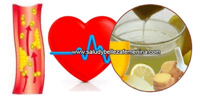 Reduce el colesterol y la presión arterial alta  con esta bebida